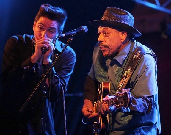 Feinster Chigago Blues mit Bob Corritore und John Primer