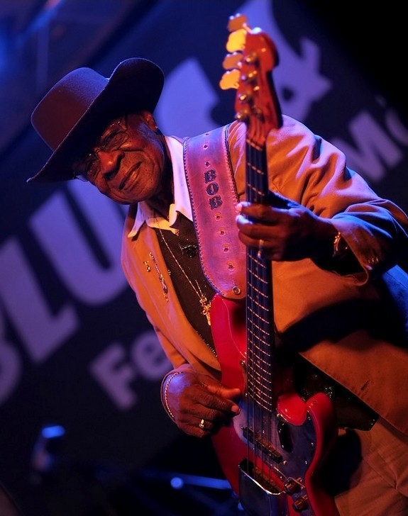 Blueslegende Bob Stroger