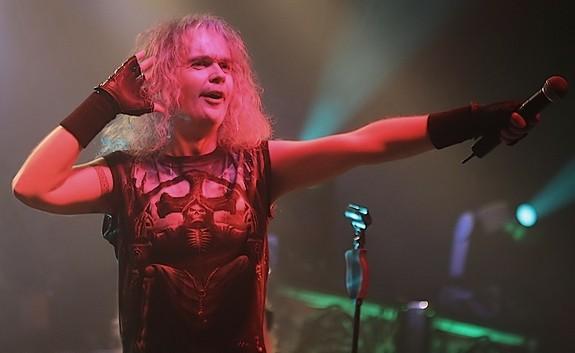 Frontman und Sänger Chris Boltendahl von GraveDigger