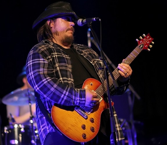 Der texanische Bluesrocker Lance Lopez