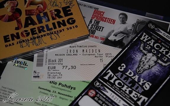 Konzerte-Live 2013