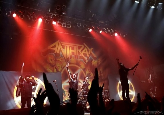 Anthrax - Speed-Metalband aus NewYork