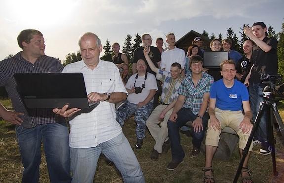 Wetter-Sturmjägertreffen 30.06.2012 - Gruppenfoto - Habichtsberg Cranzahl