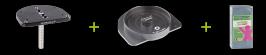 トーシンデンタル ジルコンザーン CAD/CAM イージーフィックス マルチダイホルダー