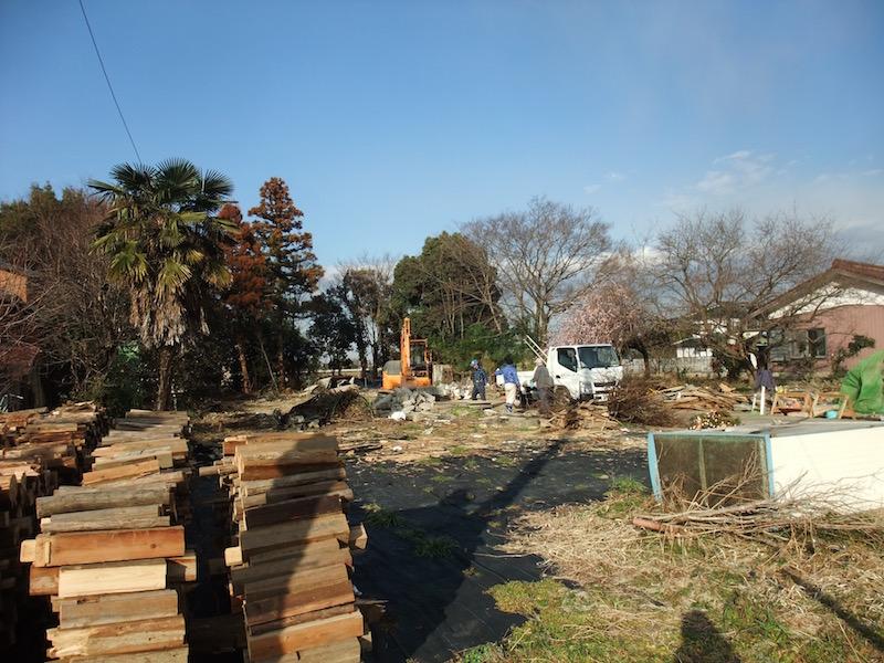 2016.02.16 既存建物の解体工事.