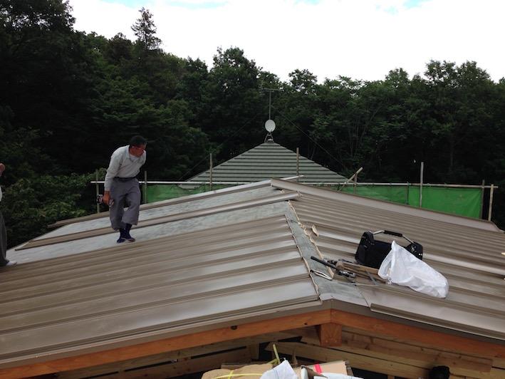 20140522 屋根葺き