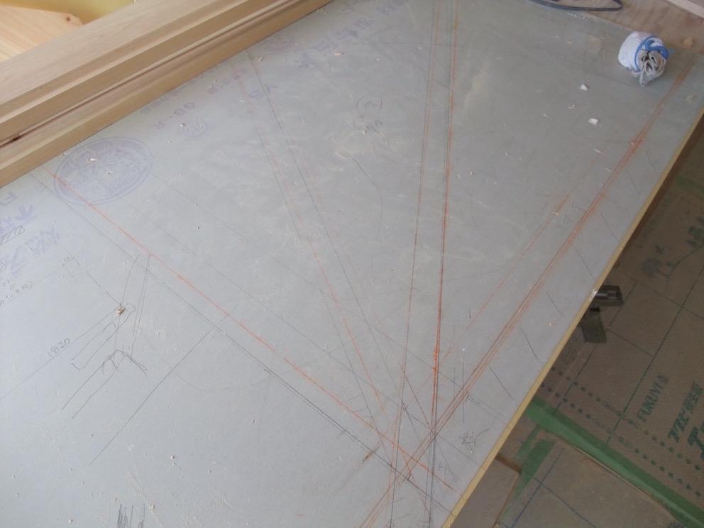 2014.03.08 階段の下図。