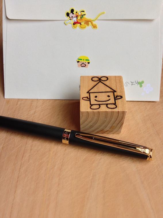 2014.04.18 ちいさな検査員のお父さんからはペンを!