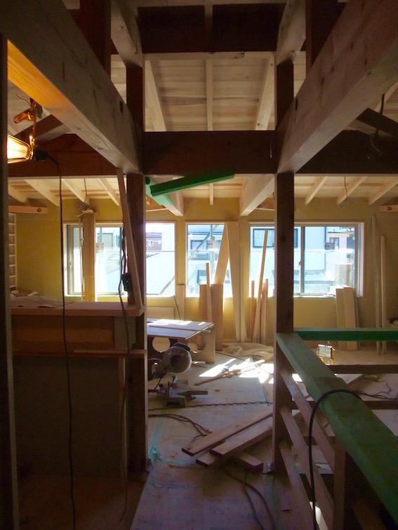 20150131 木工事。