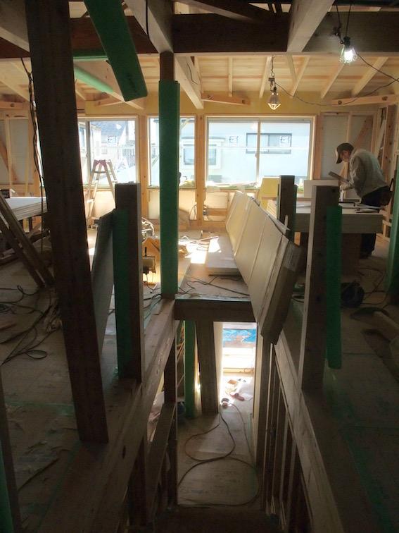 20150123 木工事。