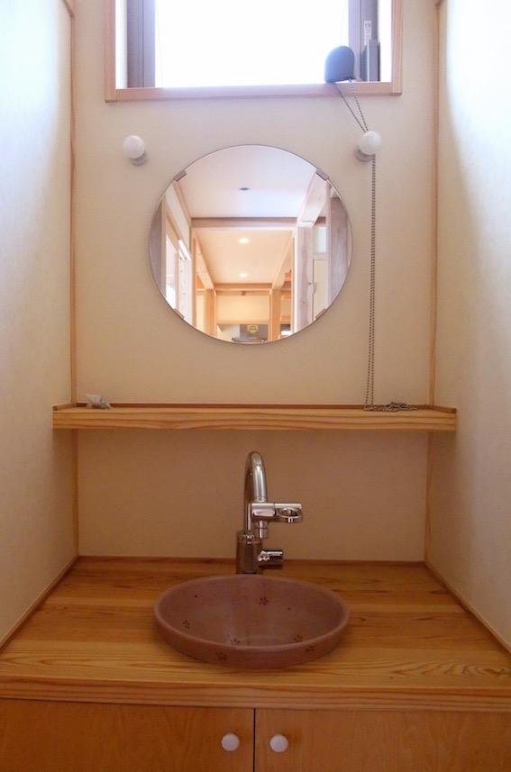 20140726 手づくりの手洗カウンター収納