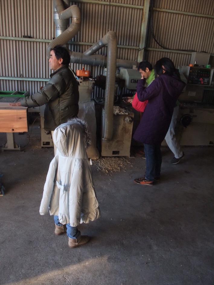2013.12.21 寒い中、ちいさな検査員の検査が続きました。