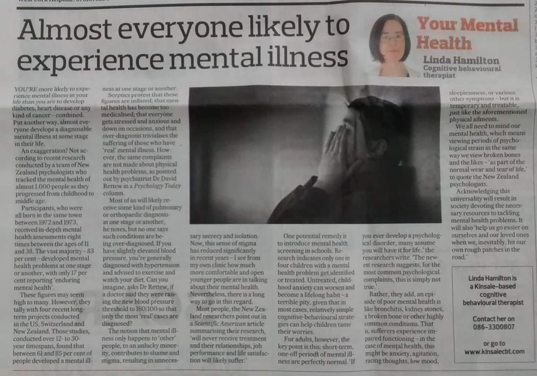 Essay mental disorders