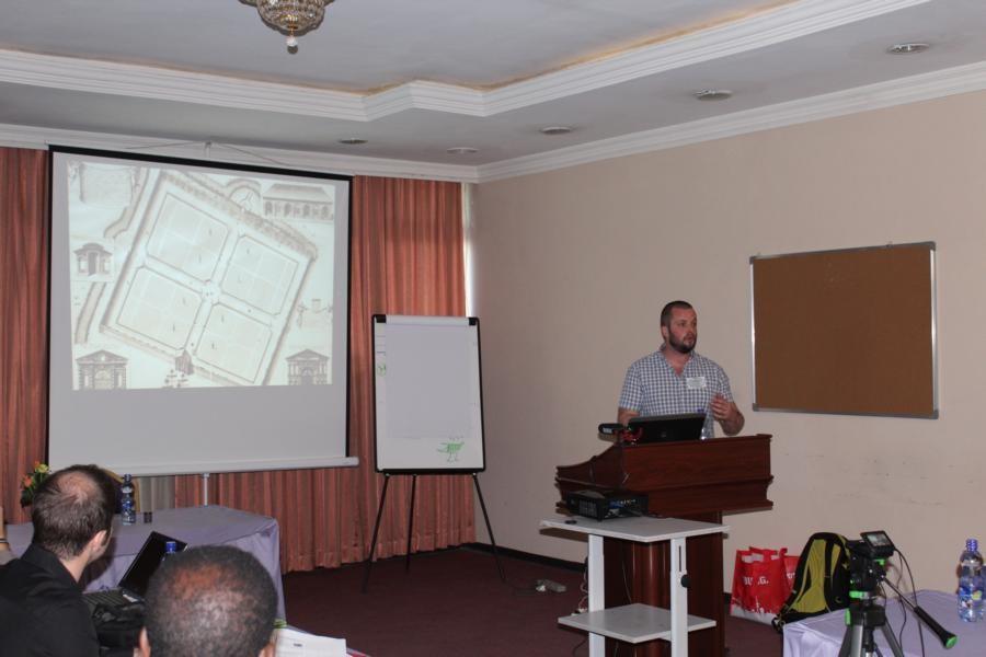 FdSc. Ben Jones (Curator of the Harcourt Arboretum, Oxford University) was explaining the need of  ex situ conservation