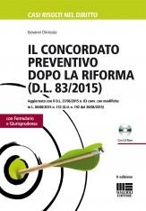Il concordato preventivo dopo la riforma (DL 83/2015)