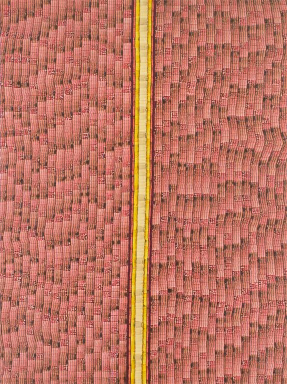 Evacuate - watercolour on acrylic sheet - 120 x 90 cm