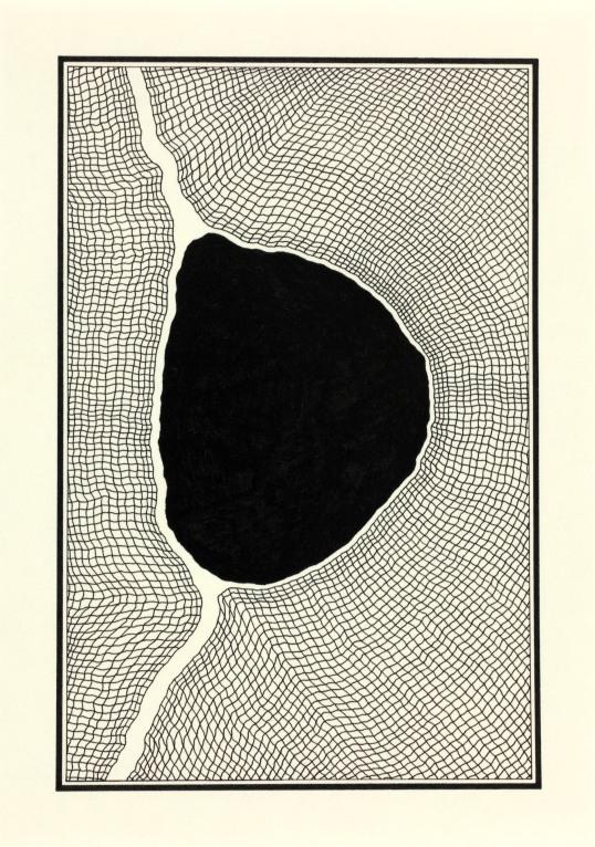Path - 14.8 x 10.4 cm