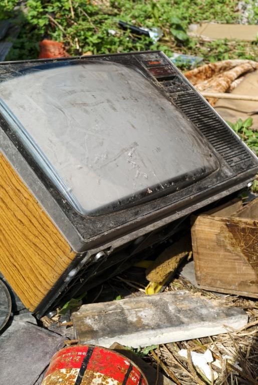 Wood Effect TV