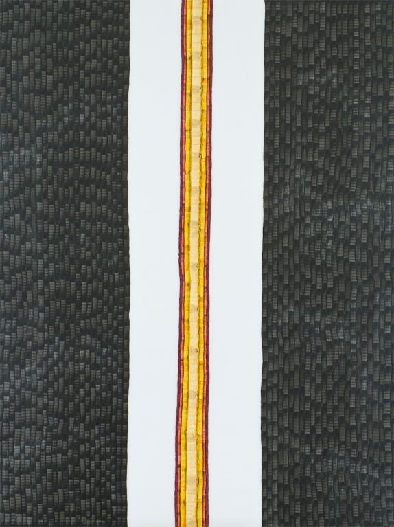 Spend - watercolour on acrylic sheet - 120 x 90 cm