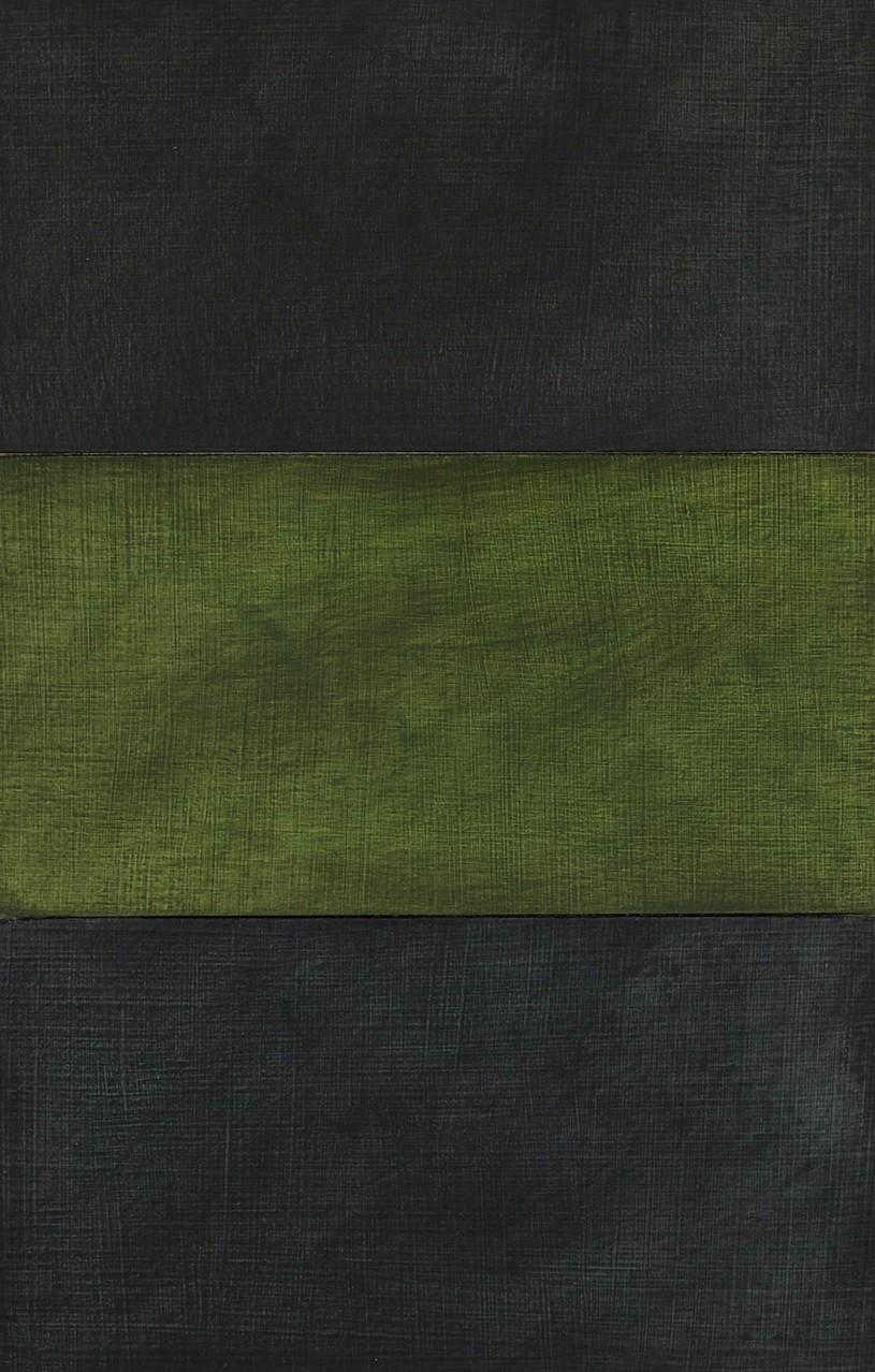 Grey / Yellow Tone / Grey - 15 x 10 cm - acrylic on wood panel