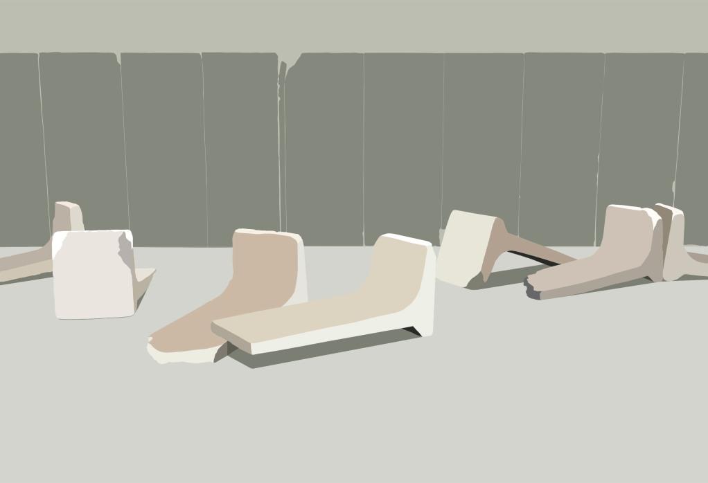 Precast Partitions - 37.4 x 54.8 cm