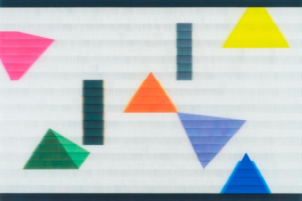 Triangles - 50 x 75 cm
