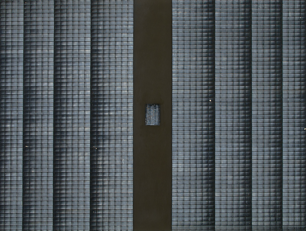 Thin Air 2 - watercolour on acrylic sheet - 45 x 60 cm