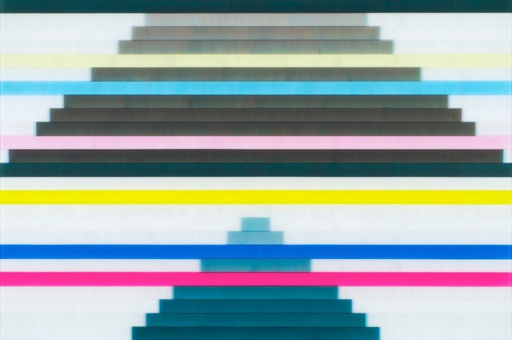 Ziggurat - 50 x 75 cm