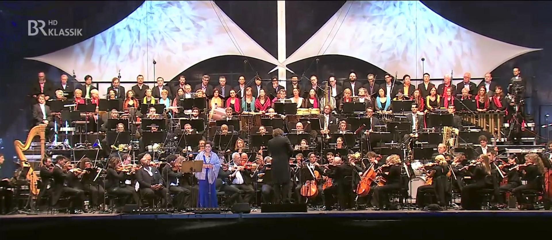 2018 Cooperation mit den Nürnberger Philharmonikern bei Klassik im Park