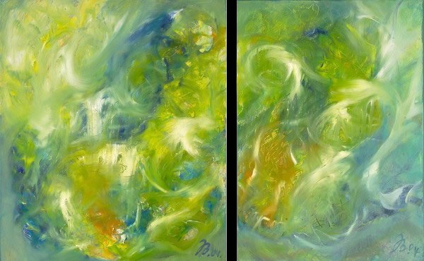Wind | Öl auf Leinwand | 2004 | 120x60cm