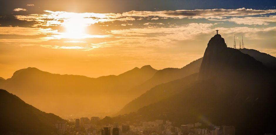 Blick auf Rio de Janeiro in der Abendsonne.  (Quelle: pixabay)