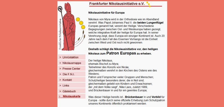 © Screenshot von http://www.kath.de/nikolaus/