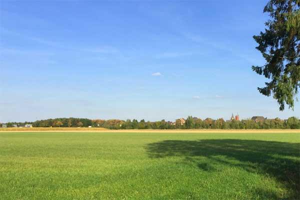 Korschenbroich-West An der Niersaue! Grundstück in ländlicher Idylle für Ihr Traumhaus!