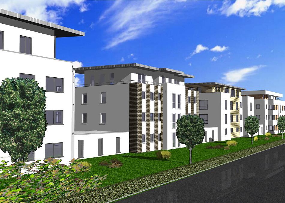 Korschenbroich Niersaue Baugebiet Korschenbroich-West