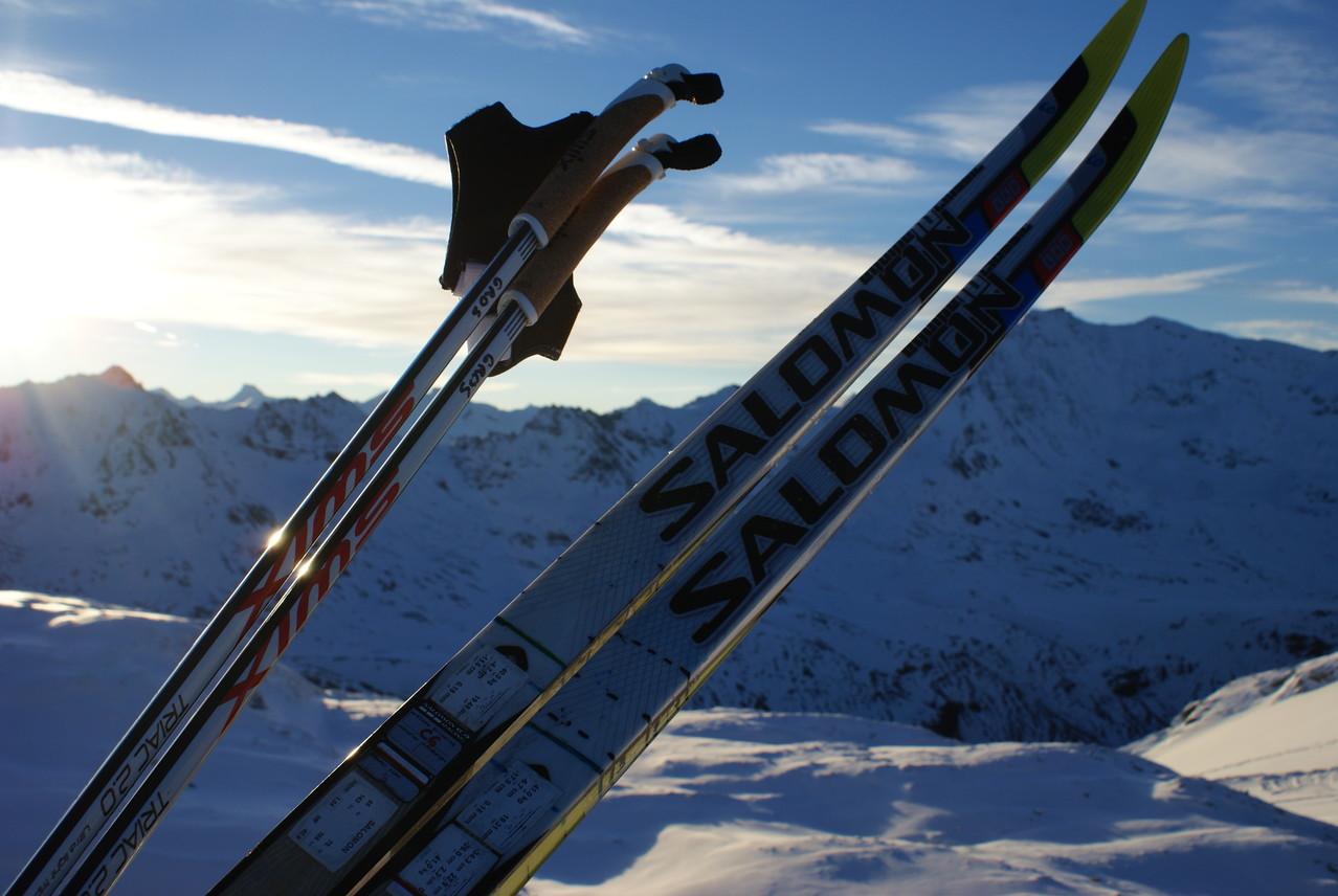 Encore une belle journée de ski !