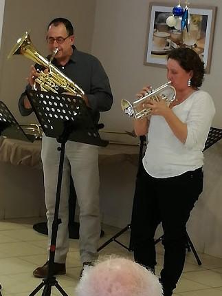 Tuba et cornet en duo