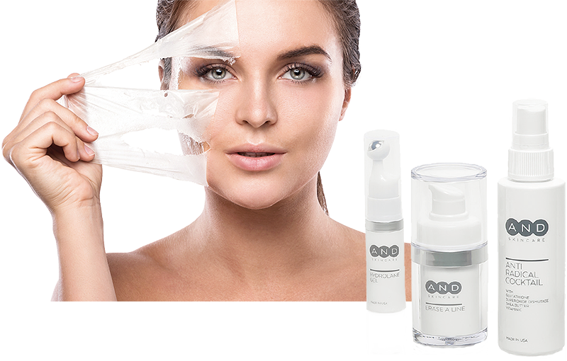 Cosmeceuticals von AND Anti-Aging-Kosmetik