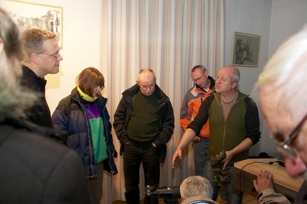 LIchtbildvortrag im Alten Rathaus mit Markus Botzek- Fachdiskussion