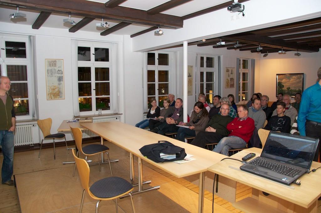 LIchtbildvortrag im Alten Rathaus mit Markus Botzek