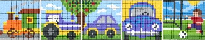 Pixel-Würfel für unterwegs