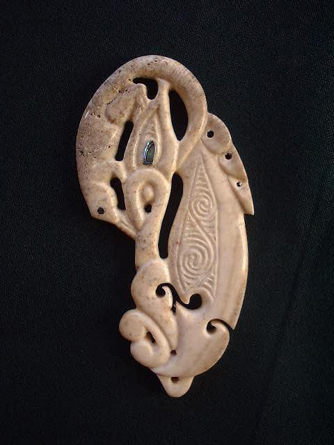 #6 Taniwha + Tuatara / Whale Bone