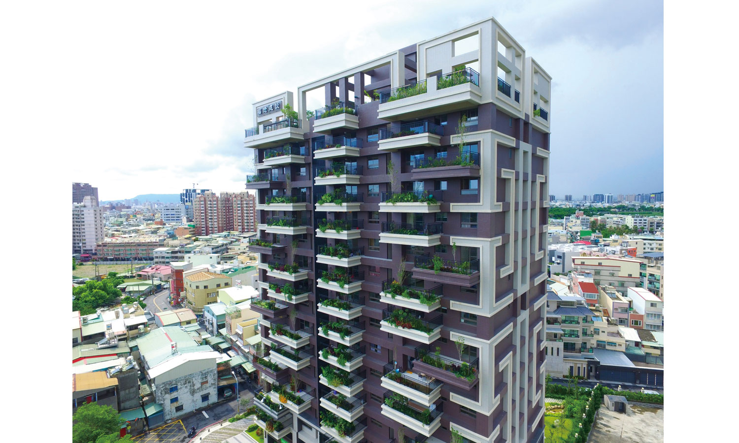 Kaohsiung House. Vertical jungle. (©Public Works Bureau, Kaohsiung City Government, Taiwan©©)