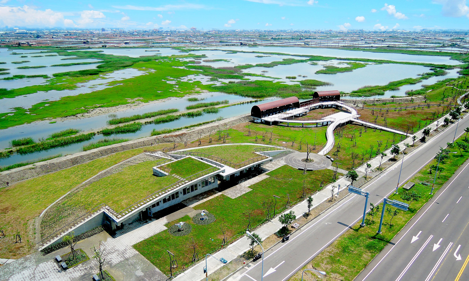 JiadingWetlands. (©Public Works Bureau, Kaohsiung City Government, Taiwan©©)