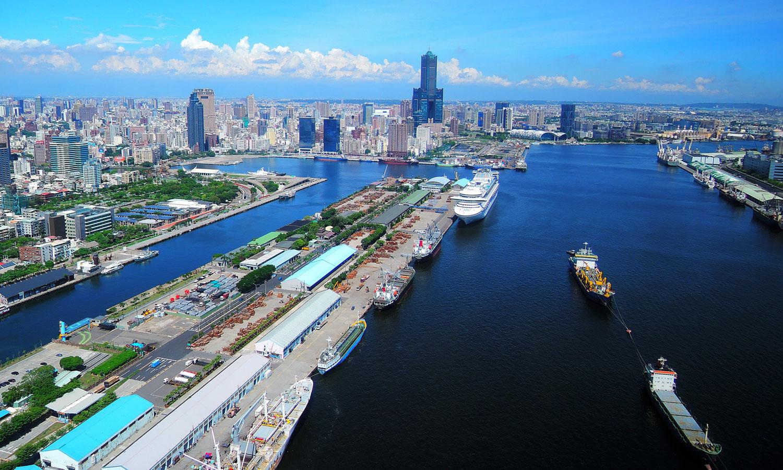 Kaohsiung Harbour. (©Urban Development Bureau, Kaohsiung City Government, Taiwan)