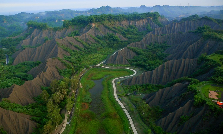 Tianliao Moon World Landscape Park. (©Urban Development Bureau, Kaohsiung City Government, Taiwan)