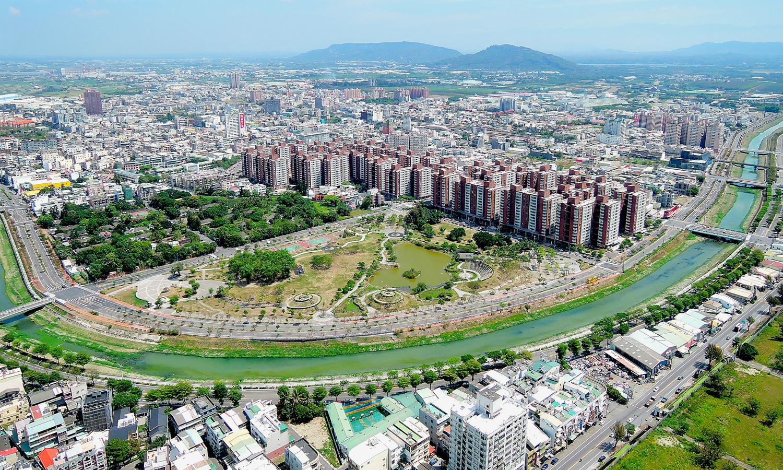 Gangshan Heti Park. (©Urban Development Bureau, Kaohsiung City Government, Taiwan)