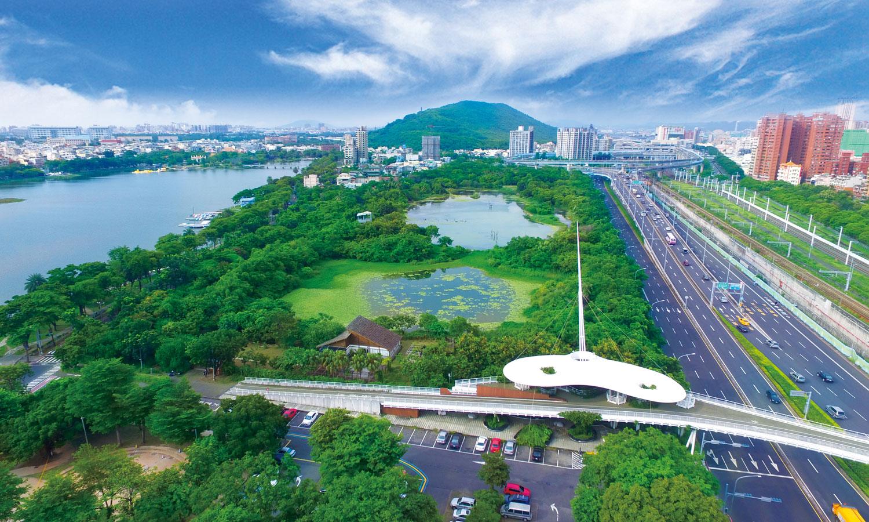 Jhouzai Wetland. (©Public Works Bureau, Kaohsiung City Government, Taiwan©©)