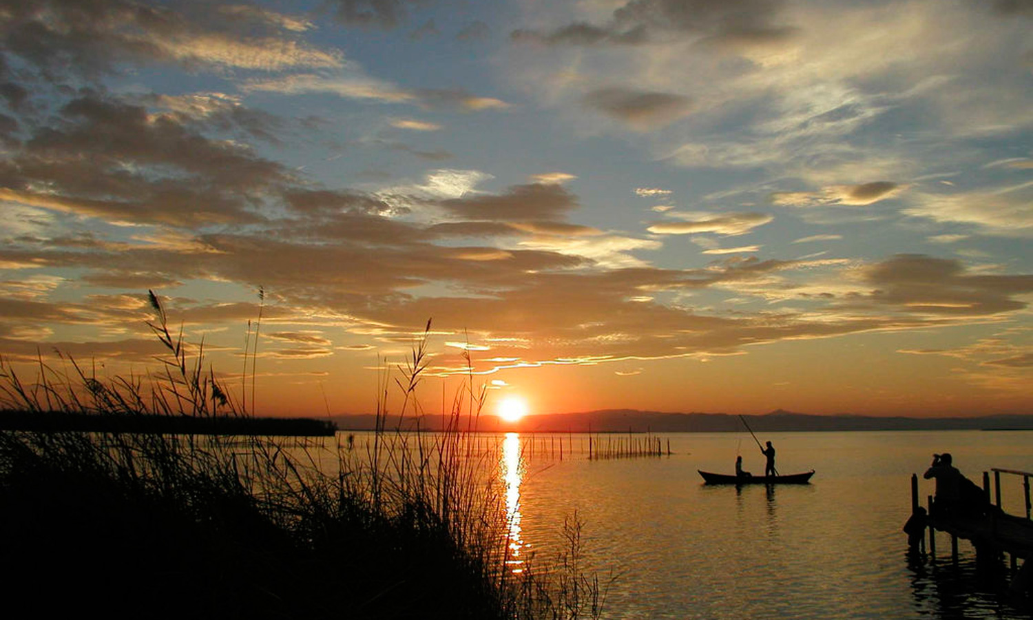 View on Albufera lake