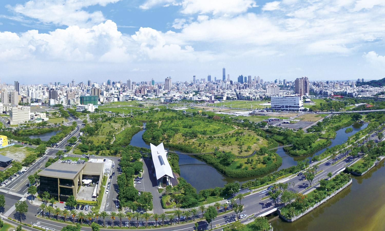 Jhondou Wetlands Park. (©Urban Development Bureau, Kaohsiung City Government, Taiwan)