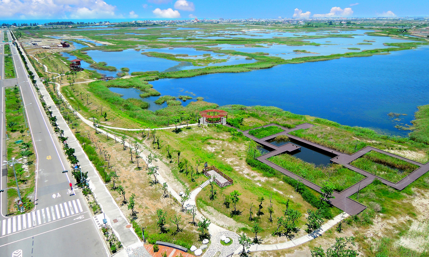 Chengcing Lake. (©Urban Development Bureau, Kaohsiung City Government, Taiwan)